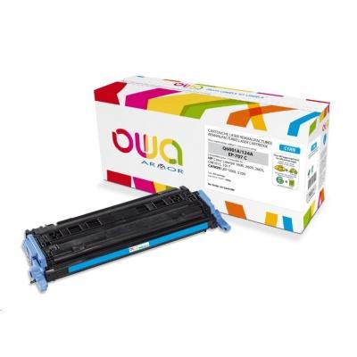 OWA Armor toner pro HP Color Laserjet 1600, 2600, 2605, 2000 Stran, Q6001A, modrá/cyan