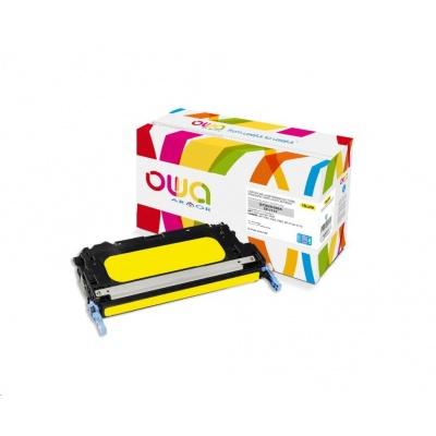 OWA Armor toner pro HP Color Laserjet 3800, 8000 Stran, Q7582A JUMBO, žlutá/yellow