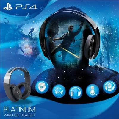 SONY PS4 Wireless Headset - Platinum