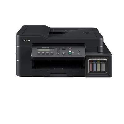 BROTHER multifunkce inkoustová DCP-T710W - A4, 12ppm, 128MB, 6000x1200, USB, WIFI, 150listů, ADF 20, TANK, bezokrajový