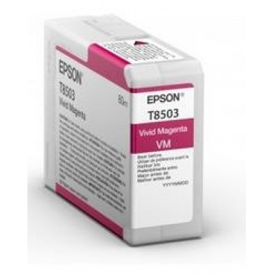 "EPSON ink bar ULTRACHROME HD ""Kosatka"" - Magenta - T850300 (80 ml)"