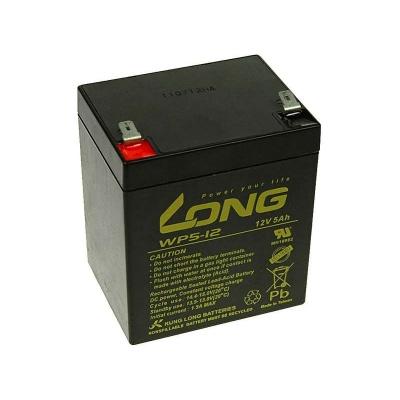 Long 12V 5Ah olověný akumulátor F2
