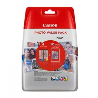 CANON BJ CARTRIDGE CLI-571XL BK BLISTER SEC