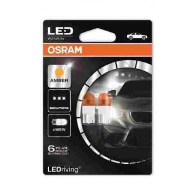 "OSRAM autožárovka ""W5W"" LEDriving® Premium 12V 0,8W W2.1x9.5d oranžová (Blistr 2ks)"