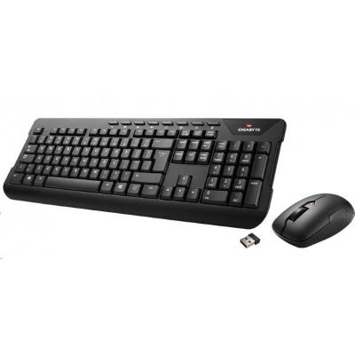 GIGABYTE KB set klávesnice+myš KM7590, wireless