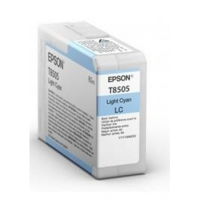 "EPSON ink bar ULTRACHROME HD ""Kosatka"" - Light Cyan - T850500 (80 ml)"