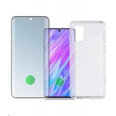 4smarts 360° Premium Protection set (tvrzené sklo UltraSonic a gelový zadní kryt) pro Samsung Galaxy S20 Ultra
