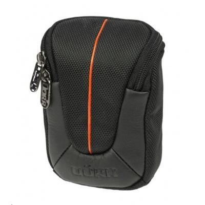 Doerr pouzdro YUMA S (6x2,5x9,5 cm, černá/oranžová)