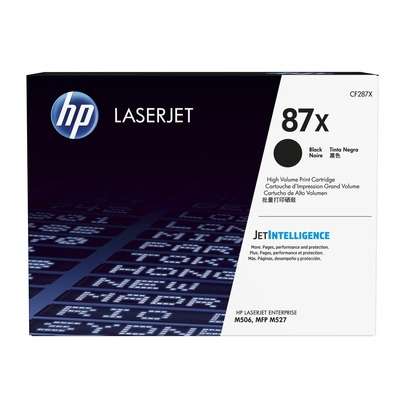 HP  87X Black LJ Toner Cart, str, CF287X