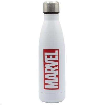 Puro Disney láhev z nerezové oceli MARVEL LOGO, single wall, 750ml White