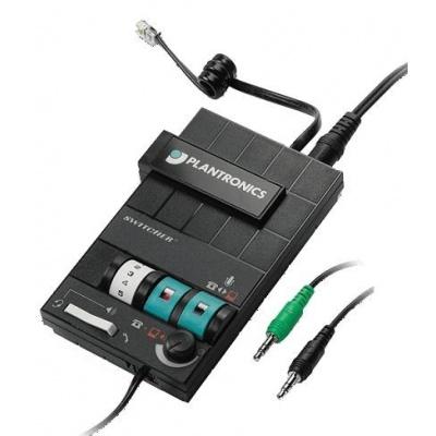 PLANTRONICS audio procesor MX10 pro náhlavní soupravy Plantronics