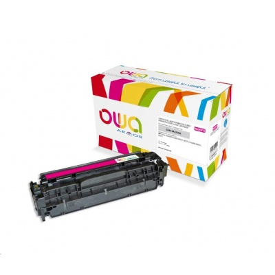 OWA Armor toner pro HP Color Laserjet Pro300 M351, M375, Pro400 M451, M475, 2600 Stran, CE413A, červená/magenta