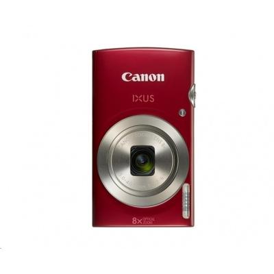 Canon IXUS 185, 20MPix, 8x zoom - červený Essential Kit