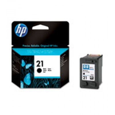 HP 21 Black Ink Cart, 5 ml, C9351AE