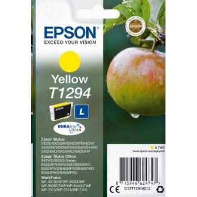 "EPSON ink bar Singlepack ""Jablko"" Yellow T1294 DURABrite Ultra Ink (7 ml)"