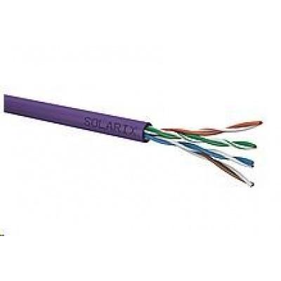 Instalační kabel Solarix UTP, Cat5E, drát, LSOH, box 305m SXKD-5E-UTP-LSOH