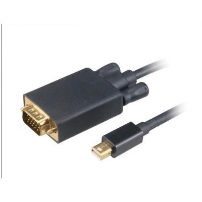 AKASA adaptér Mini DisplayPort na VGA,kabel, 1.8m