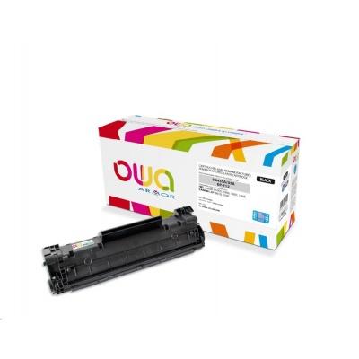 OWA Armor toner pro HP Laserjet P1005, 1006, 1007, 1008, 2500 Stran, CB435A JUMBO, černá/black