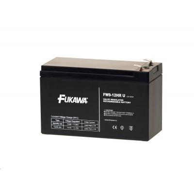 Baterie - FUKAWA FW 9-12 HRU (12V/9Ah - Faston 250), životnost 5let