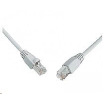 Solarix Patch kabel CAT6 SFTP PVC 0,5m šedý snag-proof C6-315GY-0,5MB