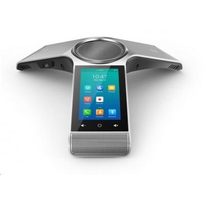 "Yealink CP960 IP konferenční tel., 5"" 720x1280 dotyk LCD, 1x 10/100, Wi-Fi, Bluetooth, PoE, 1x SIP, 2x USB, bez adaptéru"