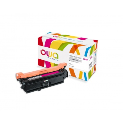 OWA Armor toner pro HP Color Laserjet Ese 500 M551, M575, 6000 Stran, CE403A, červená/magenta