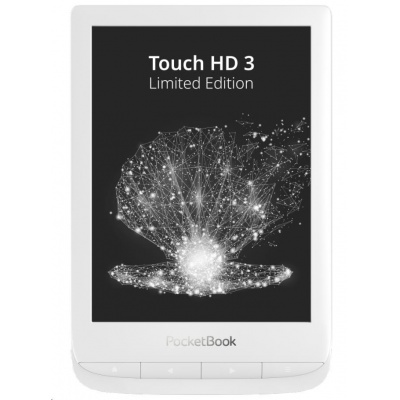 POCKETBOOK 632 Touch HD 3, Pearl white, 16GB - Limited Edition
