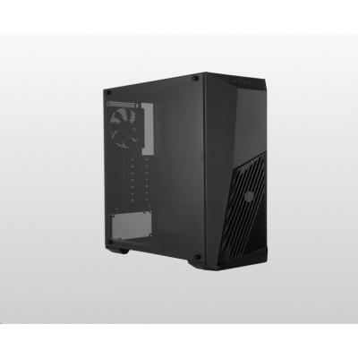Cooler Master case MasterBox K501L, ATX, Mid Tower, černá, bez zdroje
