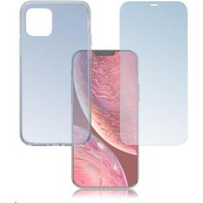 4smarts 360° Protection set (tvrzené sklo + gelový zadní kryt) pro Apple iPhone 12 Pro Max