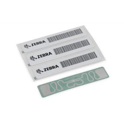 Zebra RFID Label, 60 x 25mm, White coated PP, 3 in core, 500/roll (Silverline Blade)