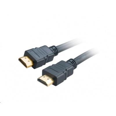 AKASA kabel HDMI na HDMI, 200cm, černý