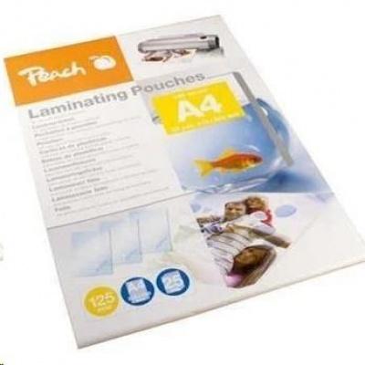 Peach Laminating Pouch A4 (303x216mm), 125mic, Self Adhesive
