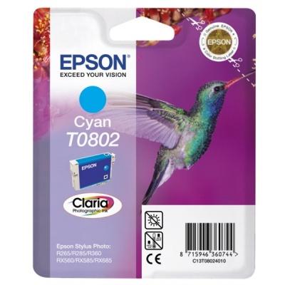 "EPSON ink bar CLARIA Stylus photo ""Kolibřík"" R265/ RX560/ R360 - cyan"