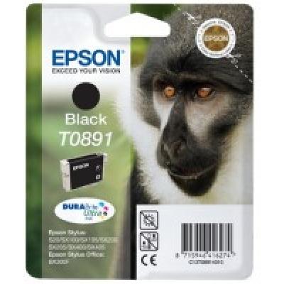 EPSON ink čer Stylus S20/SX100/SX200/SX400 (T0891) - black