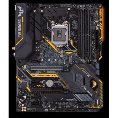 ASUS MB Sc LGA1151 TUF Z390-PLUS GAMING (WI-FI), Intel Z390, 4xDDR4, VGA, WI-FI