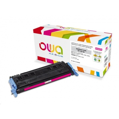 OWA Armor toner pro HP Color Laserjet 1600, 2600, 2605, 2000 Stran, Q6003A, červená/magenta