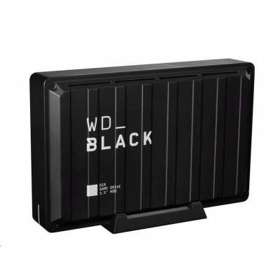 "WD BLACK D10 Game Drive 8TB, BLACK EMEA, 3.5"", USB 3.2 Compatible with PlayStation 4 Pro"