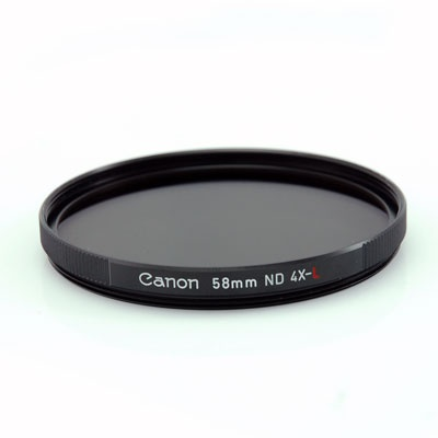 Canon filtr 58mm ND4-L Neutral density