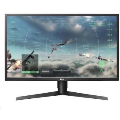 "LG MT LCD LED 27""  27GK750F, 8bit, 1920x1080, 400cdm, 1ms, 2xHDMI, DP, USB 3.0, pivot"