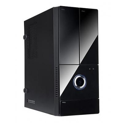 IN WIN skříň BK644, mATX, 300W 80+ Bronze PSU/ 2 x USB 3.0/ HD audio/ partition plate/ dust filter/ tool free/ Black