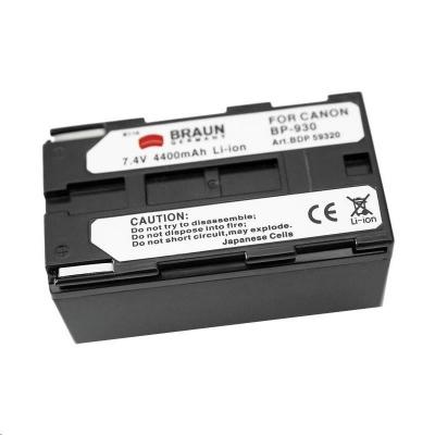 Braun akumulátor CANON BP-930, BP-945, 4400mAh