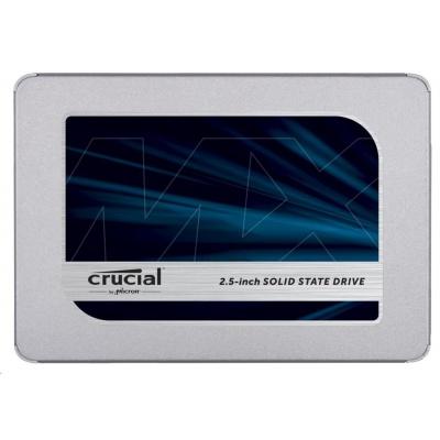 "Crucial SSD MX500, 500GB, SATA III 7mm, 2,5"""