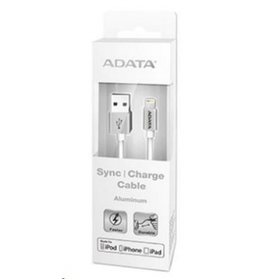 ADATA Sync & Charge Lightning kabel - USB A 2.0, 2v1, microUSB + Lightning, 200cm, černý