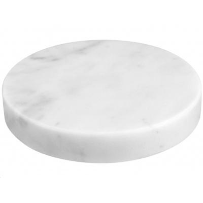 Sandberg podložka Marble Stone s bezdrátovým nabíjením Qi, USB-A, 10W, bílá