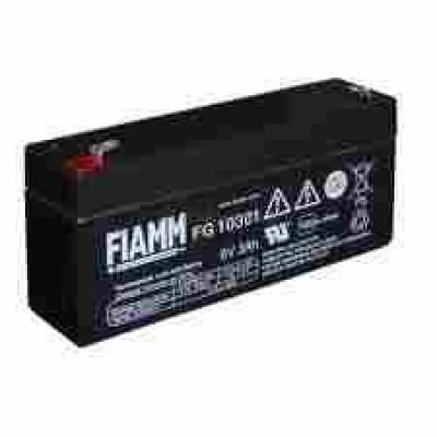 Baterie - Fiamm FG10381 (6V/3,8Ah - Faston 187), životnost 5let