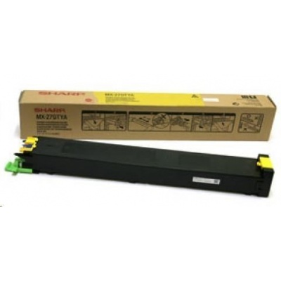 SHARP toner MX-27GTYA Yellow pre MX-2300N/2700N