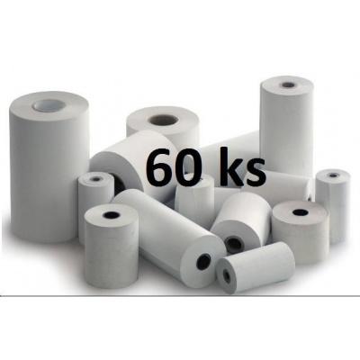 Papírový kotouč papírová páska TERMO, 80/70/12 (62m) - 60ks
