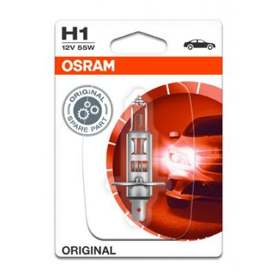 OSRAM autožárovka H1 STANDARD 12V 55W P14,5s (Blistr 1ks)