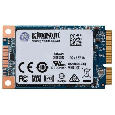Kingston 120GB SSDNow UV500 mSATA (R 520MB/s; W 320MB/s)