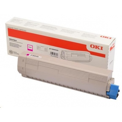 OKI Magenta toner do C833/C843 (10 000 stránek)